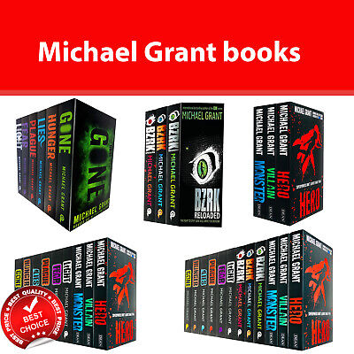 Michael Grant Collection Books Set Gone Series, BZRK Series, Monster Series NEW