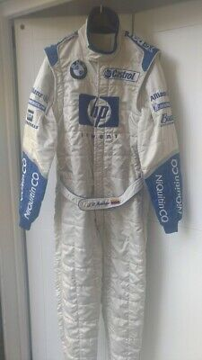 Tuta Suit Overall Sparco Williams Bmw F1 Montoya 2003