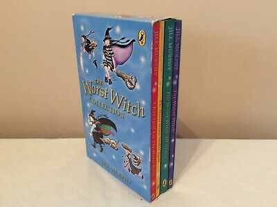 PUFFIN RRP £19.96 The Worst Witch Collection by Jill Murphy BOX SET 4 BOOKS