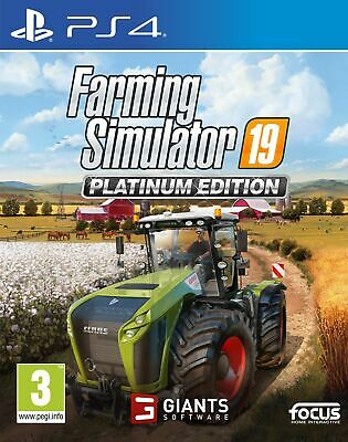 Farming Simulator 19: Platinum Edition (PS4) In Stock Now Free UK P&P Brand New