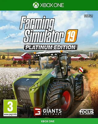 Farming Simulator 19: Platinum Edition (Xbox One) Free UK P&P NEW & SEALED