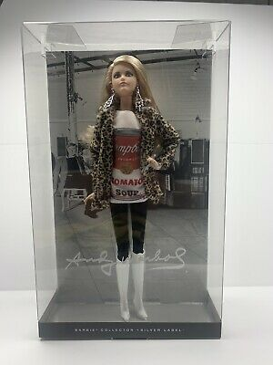 New//MINT DKN04 2016 Andy Warhol Campbell/'s Soup Barbie Doll #2