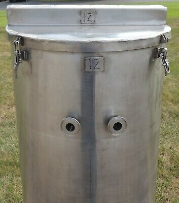 50 Gallon Sanitary Tank On Casters