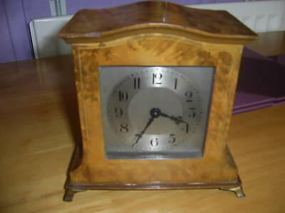 Buren swiss made 8day mantle clock