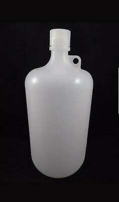 NEW NALGENE Plastic Low Density Polyethylene Bottle Jug 1 Gallon 4000mLCapacity
