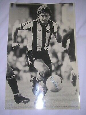 Rare Monte Fresco Signed Press Photo of Kevin Keegan