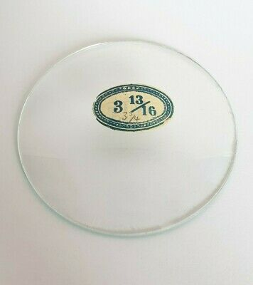 Vintage Glass Convex CLOCK FACE COVER - 95mm Diameter - LOT A