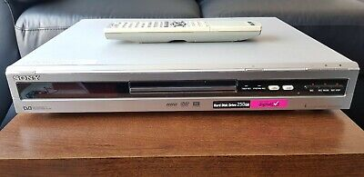 SONY RDR-HXD910 DVD Recorder With 250GB HDD + Freeview/HDMI -Silver