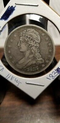 1837 capped bust half dollar look!