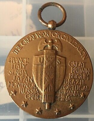WWI The Great War For Civilization Medal