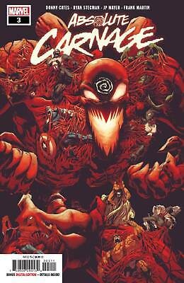 Absolute Carnage #3 Main Cover Donny Cates Ryan Stegman Marvel Comics Nm