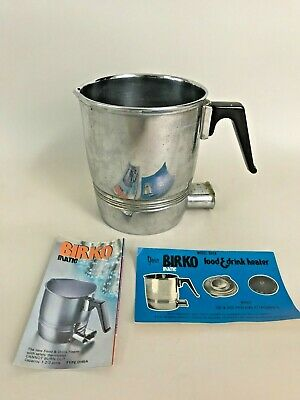 BIRKO FOOD AND DRINK WARMER HEATER 1 2/3 Pints Used Tested Working
