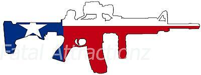 2X Made In USA American Flag Sticker Vinyl Decal AR-15 Lower Tactical Survival
