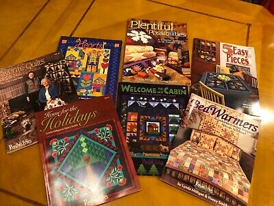 LOT 7 Possibilities Quilt Patterns $120 value