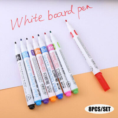 Non-toxic Painting Signature Dry-Erase Whiteboard Pen Mark Sign Marker Fine Tip