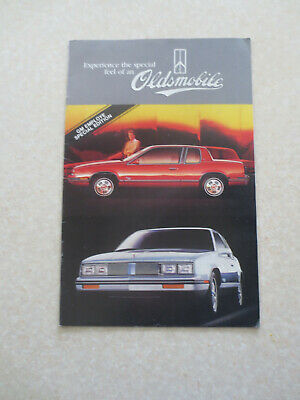 1985 Oldsmobile cars advertising booklet - USA -- GM Employee edition
