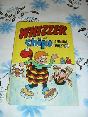 Whizzer and Chips Annual 1982 UK comic book hardcover