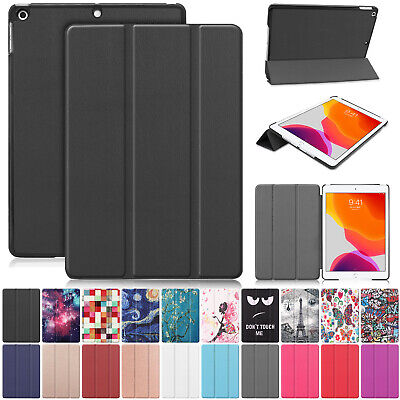 For iPad 7th Gen 10.2 inch 2019 Magnetic Auto Sleep Wake Leather Case Cover Flip