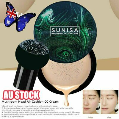 AU Mushroom Head Air Cushion CC Cream Makeup Waterproof 2019 NW