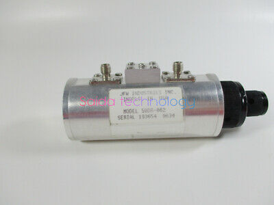 1×USED JFW 50DR-062 9.8dB / 2.0GHz  SMA manual step attenuator