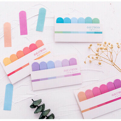 120 Pages Cute Memo Pad Sticky Notes Stationery Index Flags Tab Strip Sticker