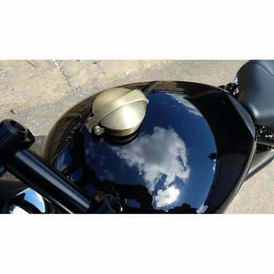 Motone Monza Fuel Petrol Cap Kit Brass for Triumph and Harley Davidson