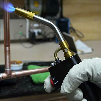 Auto Power Propane Mapp Blow Torch Welding Soldering Brazing Skilled Plumbing