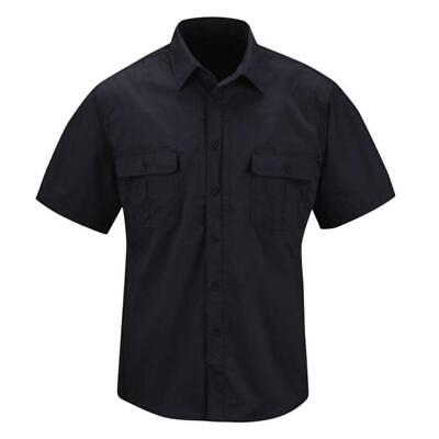 Propper F5350 Mens Kinetic Short Sleeve Tactical Shirt w/NEXStretch, LAPD Navy