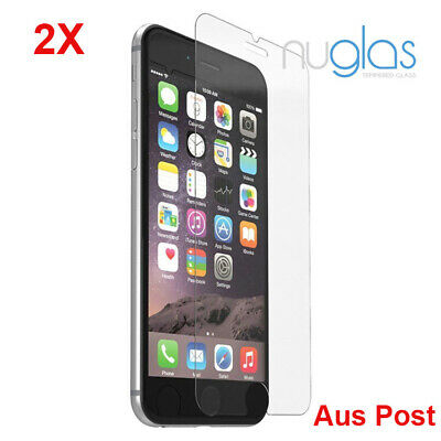 2X Nuglas Genuine Tempered Glass Screen Protector for iPhone 11 Pro MAX