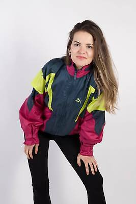 Vintage Puma Tracksuits Top Shell Sportlife Style Retro UK 90S XL Multi - SW2279