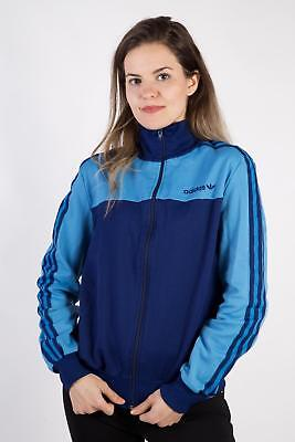 Vintage Adidas Tracksuits Top Shell Sportlife Style Retro Sport L Navy - SW2286