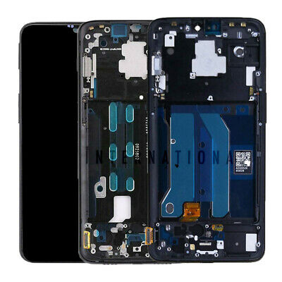 OnePlus 6 | OnePlus 6T LCD Display Touch Screen Digitizer Glass + Frame Assembly