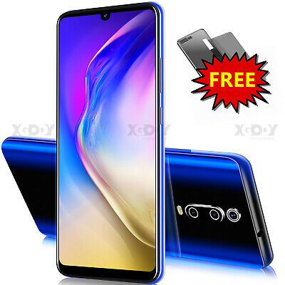 Cheap 6.26 Inch Android 9.0 Unlocked Smartphone Cell Phone Dual SIM 4 Core