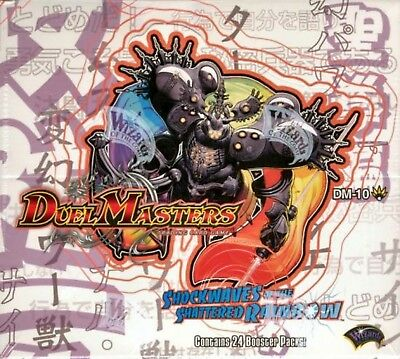 Duel Masters TCG - Shockwaves of the Shattered Rainbow DM-10 Cards - You Choose