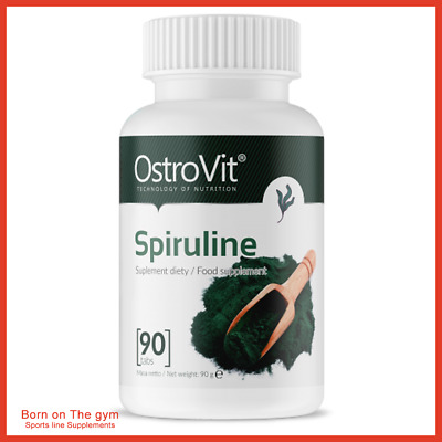 Spirulina 1000mg Serv Tablets High In Protein Weight Loss Immune System Energy