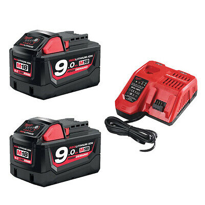 Milwaukee 18 v Starterset m18nrg-502 Batteries et chargeurs machines Batterie TOP!