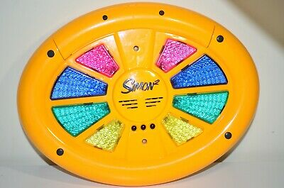Simon 2 Electronic Memory Matching Game Hasbro Double-Sided Works Perfectly