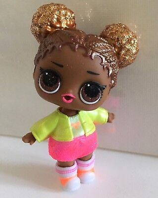 LOL Surprise Doll Glam Glitter Court Champ Tennis Player Doll African American