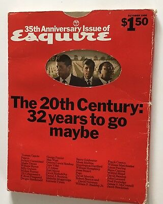 Esquire 1968 Magazine Special Edition Kennedy King Assassinations October
