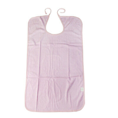 Adult Bib Natural Bamboo Fiber Mealtime Bib Clothing Protector for Drinking