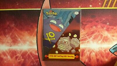 Topps TV13 #109 Koffing/#110 Weezing Holo Pokemon Card LP