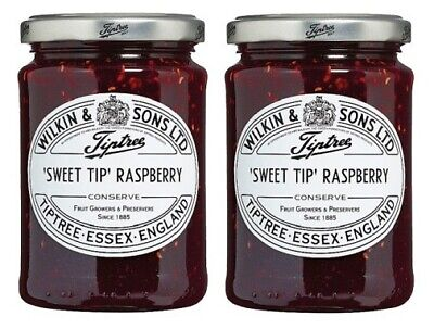 Wilkin & Sons Ltd. Tiptree Sweet Tip' Raspberry Preserve 2 Pack