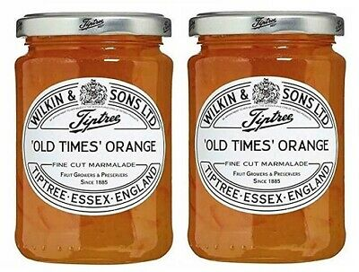 Wilkin & Sons Ltd. Tiptree Old Times Orange Fine Cut Marmalade 2 Pack