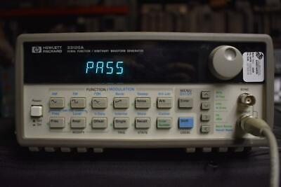 HP 33120A Function / Arbitrary Waveform Generator, 15 MHz