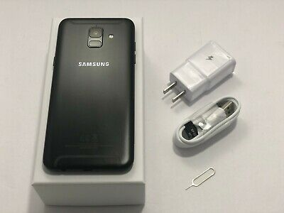 Samsung Galaxy A6 SM-A600U 32GB Black GSM Unlocked for AT&T/T-MOBILE/METRO