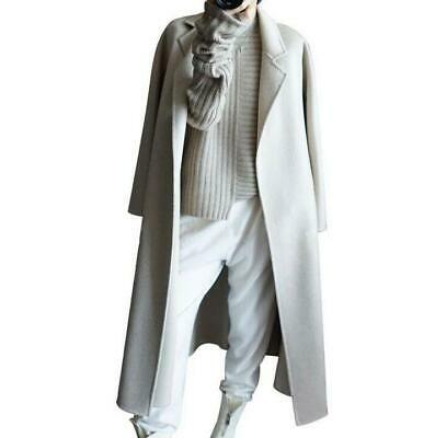 Chic Womens Warm Parkas Overcoats Long Trench Coat Outwear Jackets 100% Cashmere