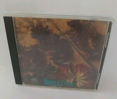Musica Flora Aromatic Music CD Approximately 1 Hour Glenn Adams Compilation