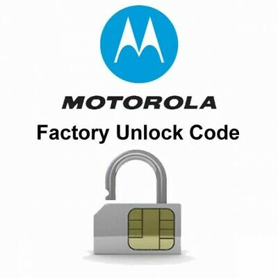 Motorola Nck Code Unlock  WORLDWIDE (USA NETWORKS NOT SUPPORTED)
