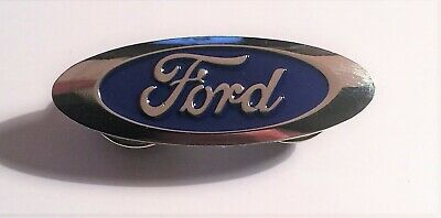 Ford Blue Oval, Quality Metal Badge, Hat Pin, Lapel Pin, Car, 2 clutches
