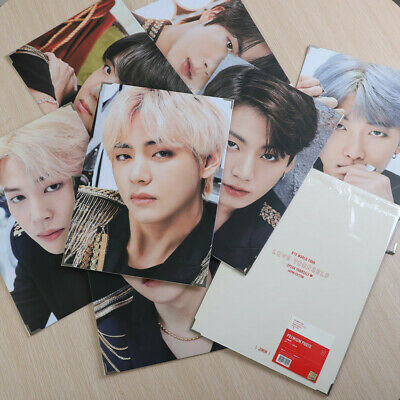 Kpop BTS Bangtan Boy LOVE YOURSELF Poster JIN Photo Card Frame WORLD TOUR Japan